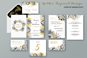 Golden Tropical Wedding