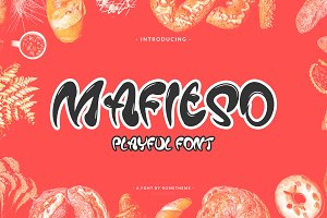 Mafieso - Playful Font