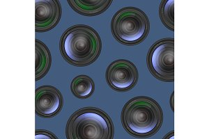 Camera Lens Pattern Background