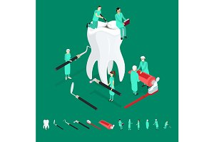 Dental Care Concept and Elements
