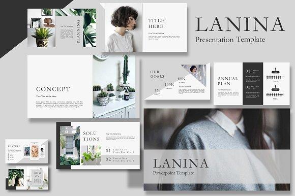 Lalina Keynote Presentation Template
