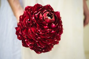 Beautiful bouquet for bride
