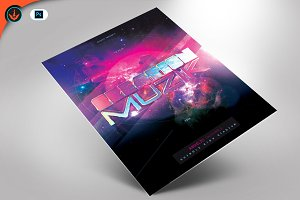 Creation Music Flyer Template