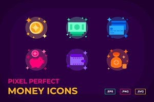 Color Money Icons