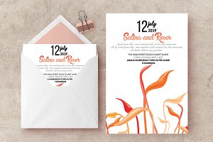 Wedding Card invite Templates