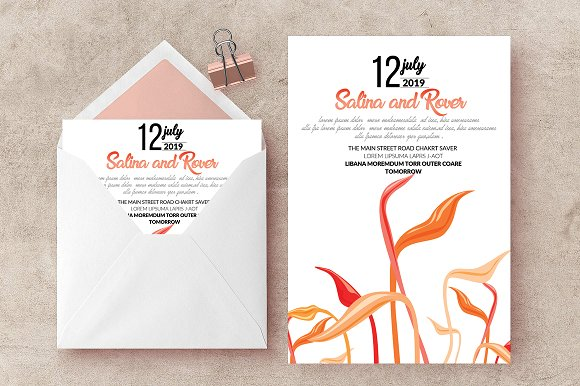 Wedding Card Invite Templates
