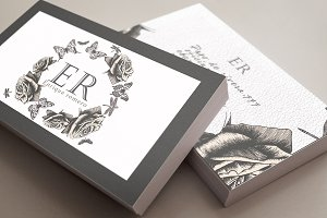 crown of roses business card