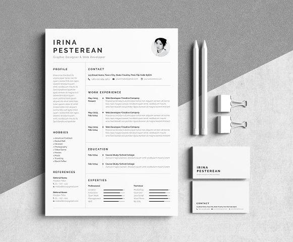 Resume Cv Irina Pesterean