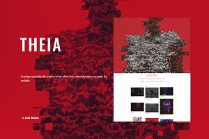 THEIA - A Vivid Portfolio Experience