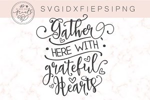 Gather Here SVG DXF EPS PNG