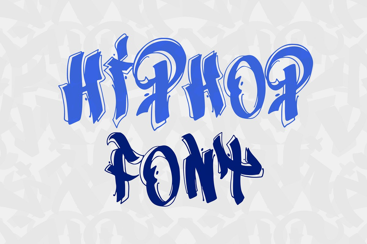 New York Hip Hop Graffiti Font