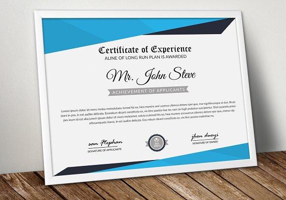 Certificate Template Word File