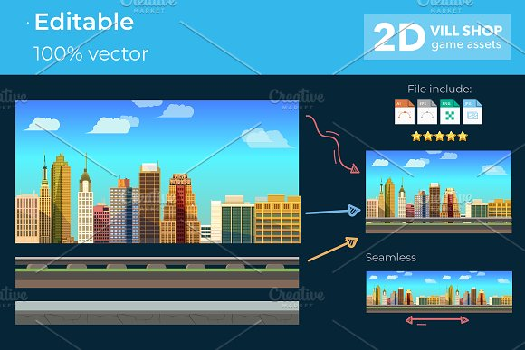 City Building Collection in Graphics - product preview 1
