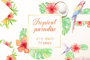 Tropical frames