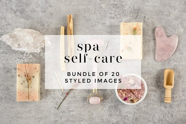 Self-care / Spa Styled Bundle
