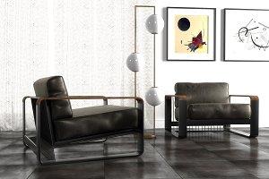 Noda lounge armchair