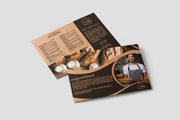 Bread O'clock A5 Flyer Template
