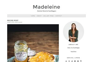 Madeleine - Recipe Blog