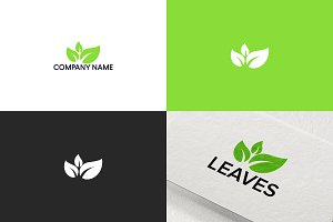 Leaves logo design | Free UPDATE