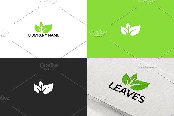 Leaves Logo Design Free UPDATE
