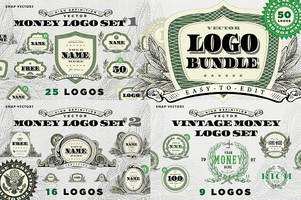 Vector Money Logo Bundle