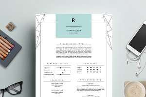 Modern Resume & Cover Letter MS Word