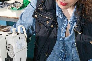 sewing machine operator