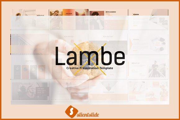 Lambe Presentation Template