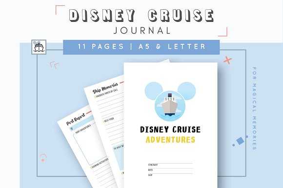 Disney Cruise Printable Journal