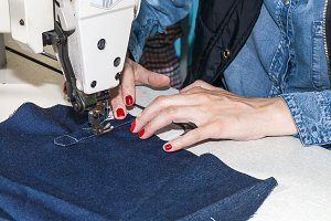 sewing machine operator