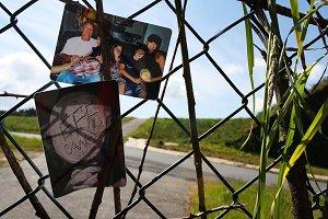 Loving memory fence in Spain