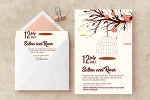 Save the Date Card invite Template