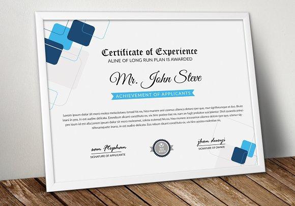 Creative Company Certificate Word