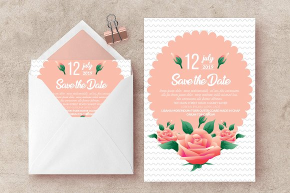 Save The Date Card Invite Templates