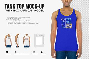 Tank Top Mock-Up (African Model)