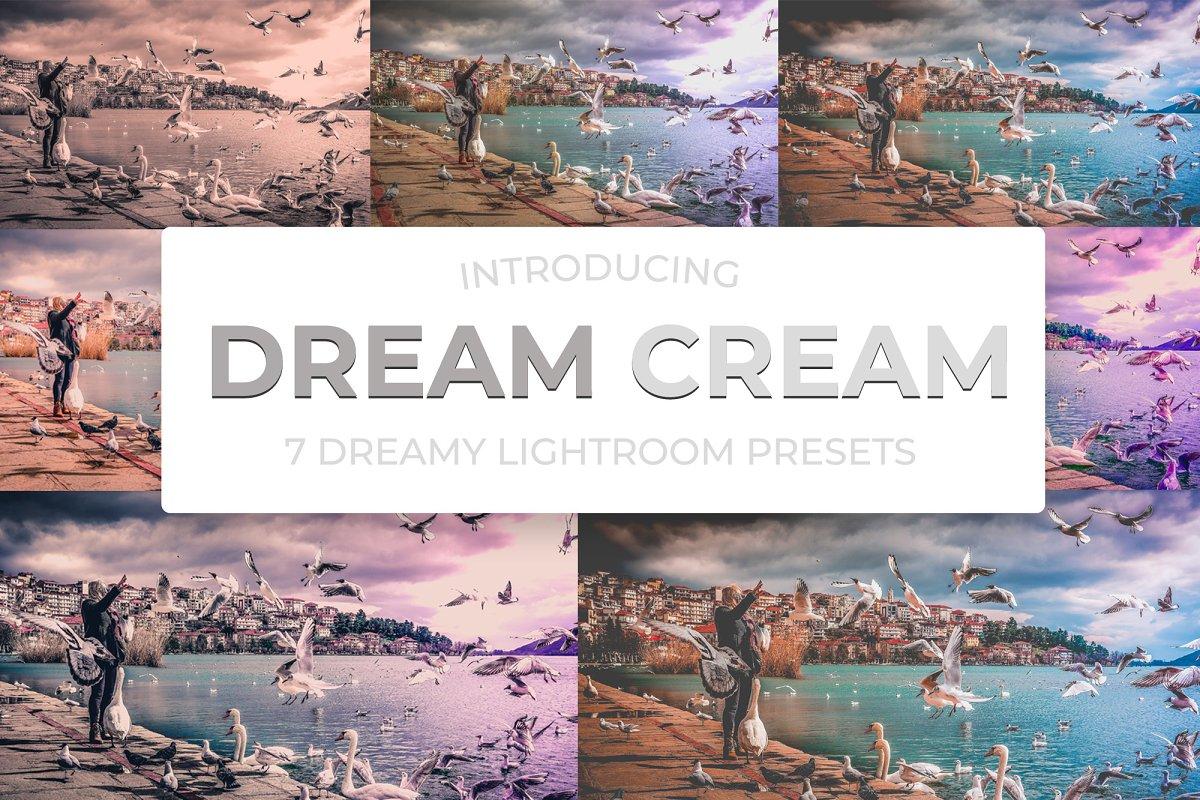 Dream Cream Lightroom Presets ~ Lightroom Presets ~ Creative Market