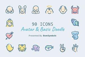 Avatar & Basic Doodle