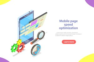 Mobile page speed optimization