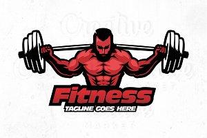 Fitness Logo, Illustration #1
