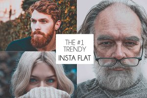 The #1 Trendy Insta-Flat Preset