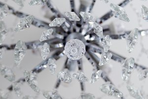 Beautiful Chandelier close-up