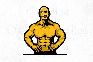 Fitness Illustration logo #3