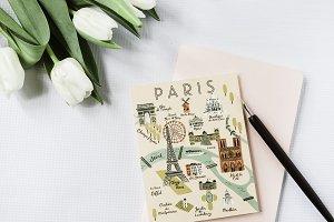 Styled Stock Photo Feminine Paris