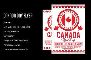Canada Day Party Poster