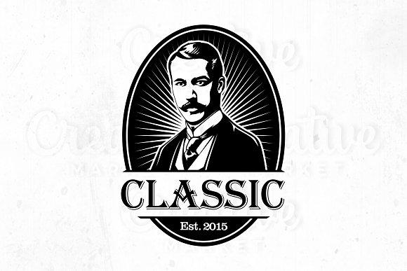 Classic Logo Vintage Illustration