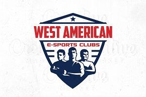 West American E-sport Logo