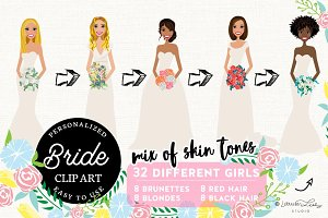 Bride Portrait Creator | Wedding Art