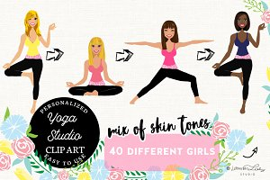 Yoga Teacher Portrait Creator