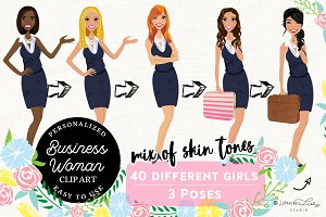 Business Woman Portrait Avatar