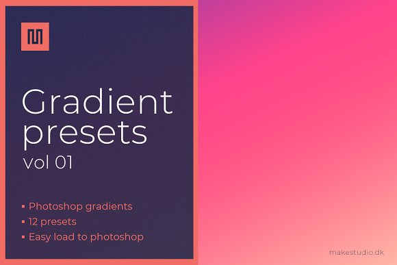 Gradient Backgrounds Presets